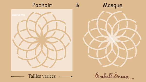 Article for Pochoir a peindre sur mur