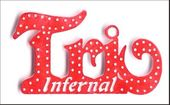 Embellissement Scrap Mot Trio Infernal