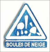 Embellissement Scrap Attention, Boules de Neige