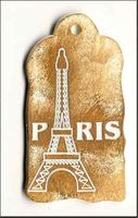 Embellissement Scrap Paris et la Tour Eiffel